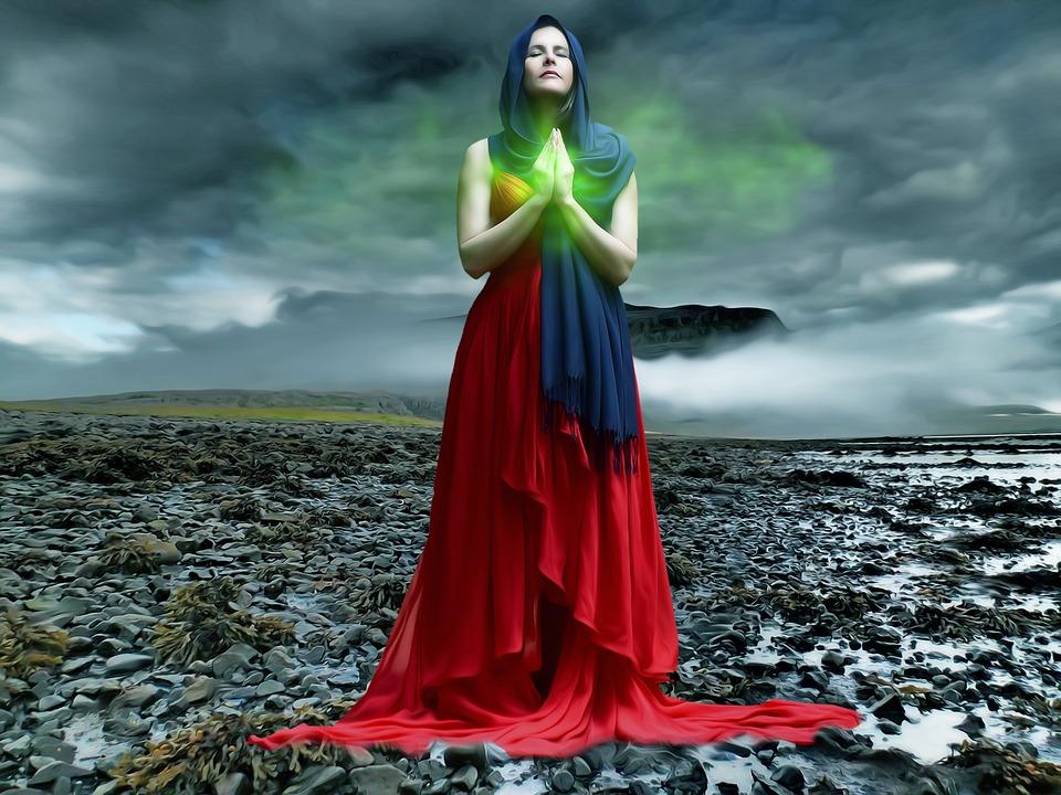 Lanzar un hechizo a través de la meditación para que te ame